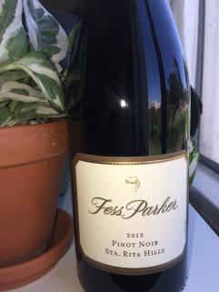 California Pinot Noir: Fess Parker